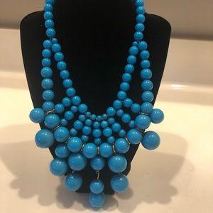 Jewelry - Chunky Blue Statement Necklace